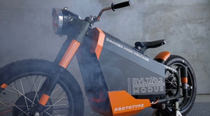 $ ALYI - Retro Revolt Electric Motorcycle based on WWII era BMW R71 military motorcycle