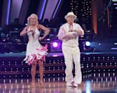 <p>Jerry took a break from mediating disagreements on TV to dance his way to fifth place. Good job, Jer. </p>
