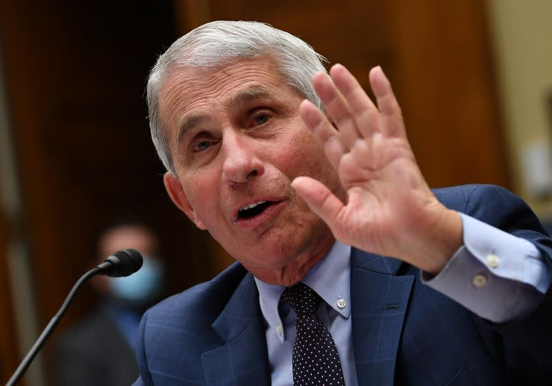 Fauci testifies before coronavirus panel