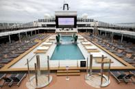 Cruises are restricted to UK waters for now with the warmer climes of France, Spain and Italy off-limits