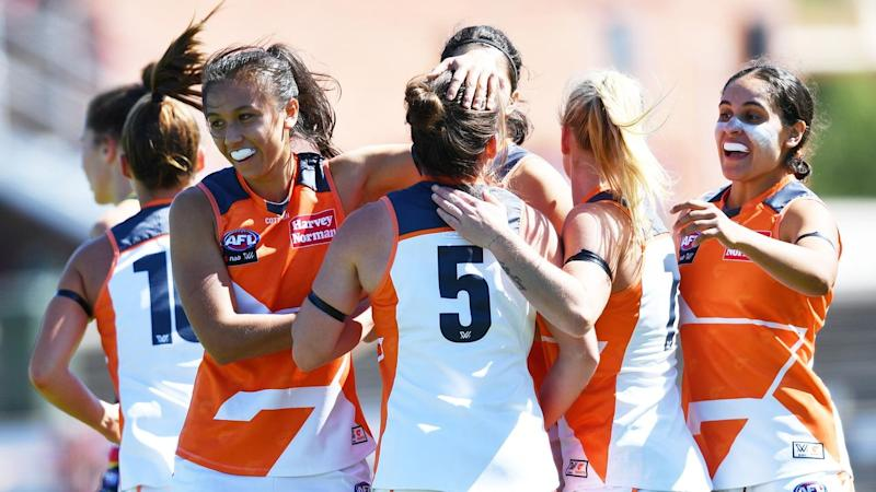 AFLW CROWS GIANTS