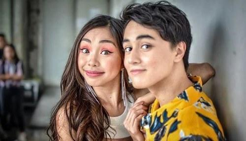 The actress was previously rumoured to be dating Edward Barber