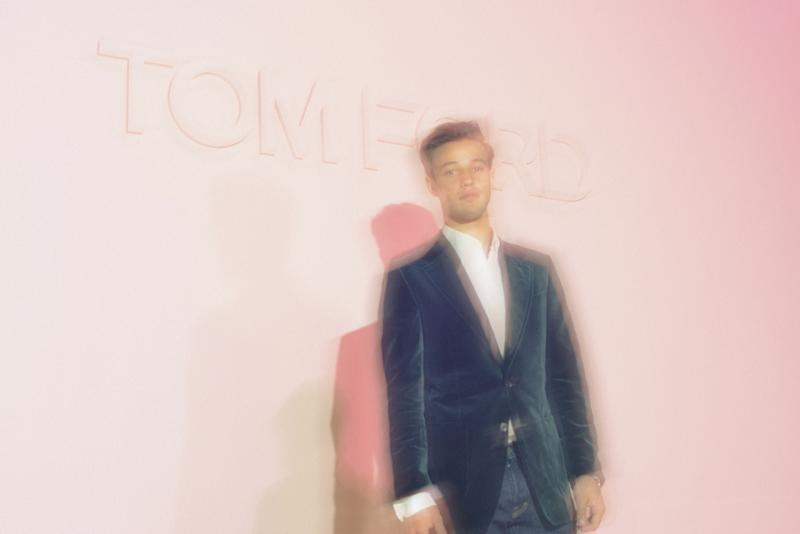 Cameron Dallas attends the Tom Ford Spring 2018 runway show as part of New York Fashion Week.