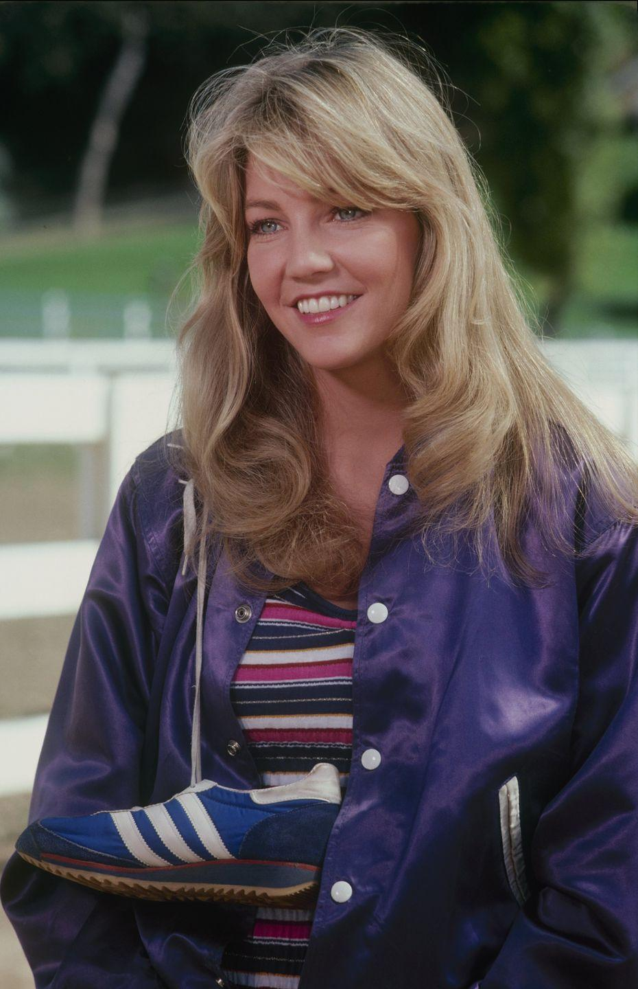 <p>Most know Heather from the beloved drama <em>Melrose Place</em>, but she also appeared as Sammy Jo on <em>Dynasty</em> for nearly eight years.</p>