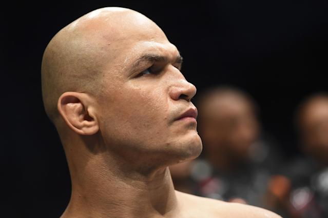 Junior dos Santos was eventually vindicated from a failed drug test, but the damage was already done. (Getty Images)