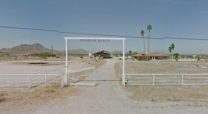 This 10-acre ranch in Rainbow Valley, Arizona is said to feature constant extraterrestrial activity.