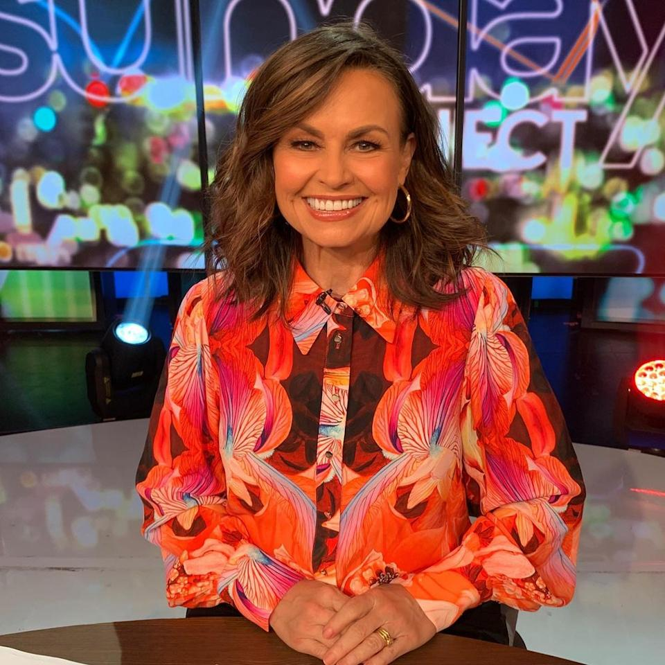 Lisa Wilkinson on The Project.