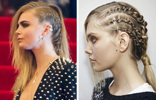 Crazy For Cornrows! Kristen Stewart Edges Up Her Hair-do With A Side Braid