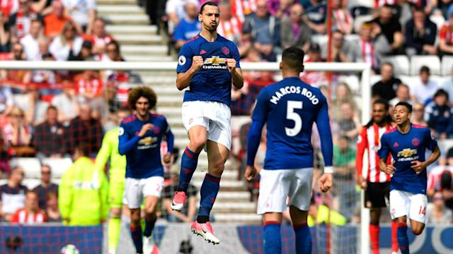 Manchester United manager Jose Mourinho believes Zlatan Ibrahimovic was the key to breaking Sunderland down in the Premier League on Sunday.