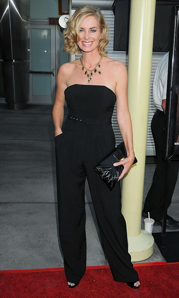 """<a href=""""http://movies.yahoo.com/movie/contributor/1800060716"""">Eileen Davidson</a> at the Los Angeles premiere of <a href=""""http://movies.yahoo.com/movie/1810046336/info"""">Sorority Row</a> - 09/03/2009"""