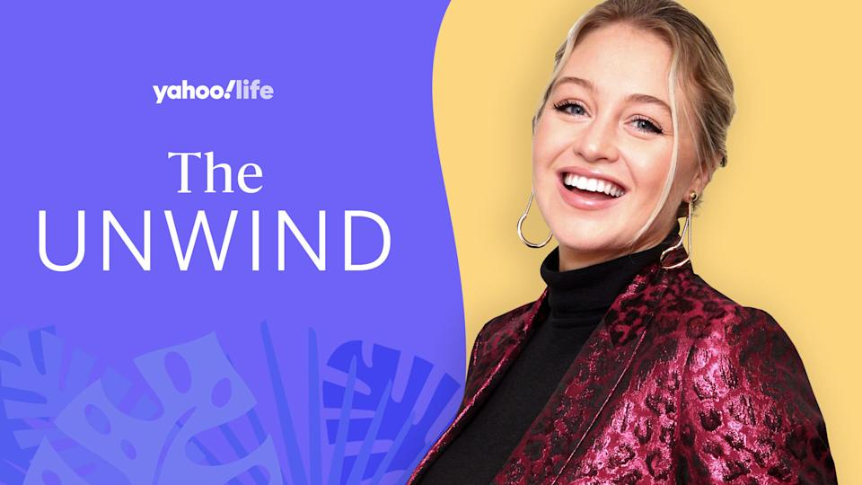 Iskra Lawrence talks body positivity, motherhood and mental health. (Photo: Getty; designed by Quinn Lemmers)