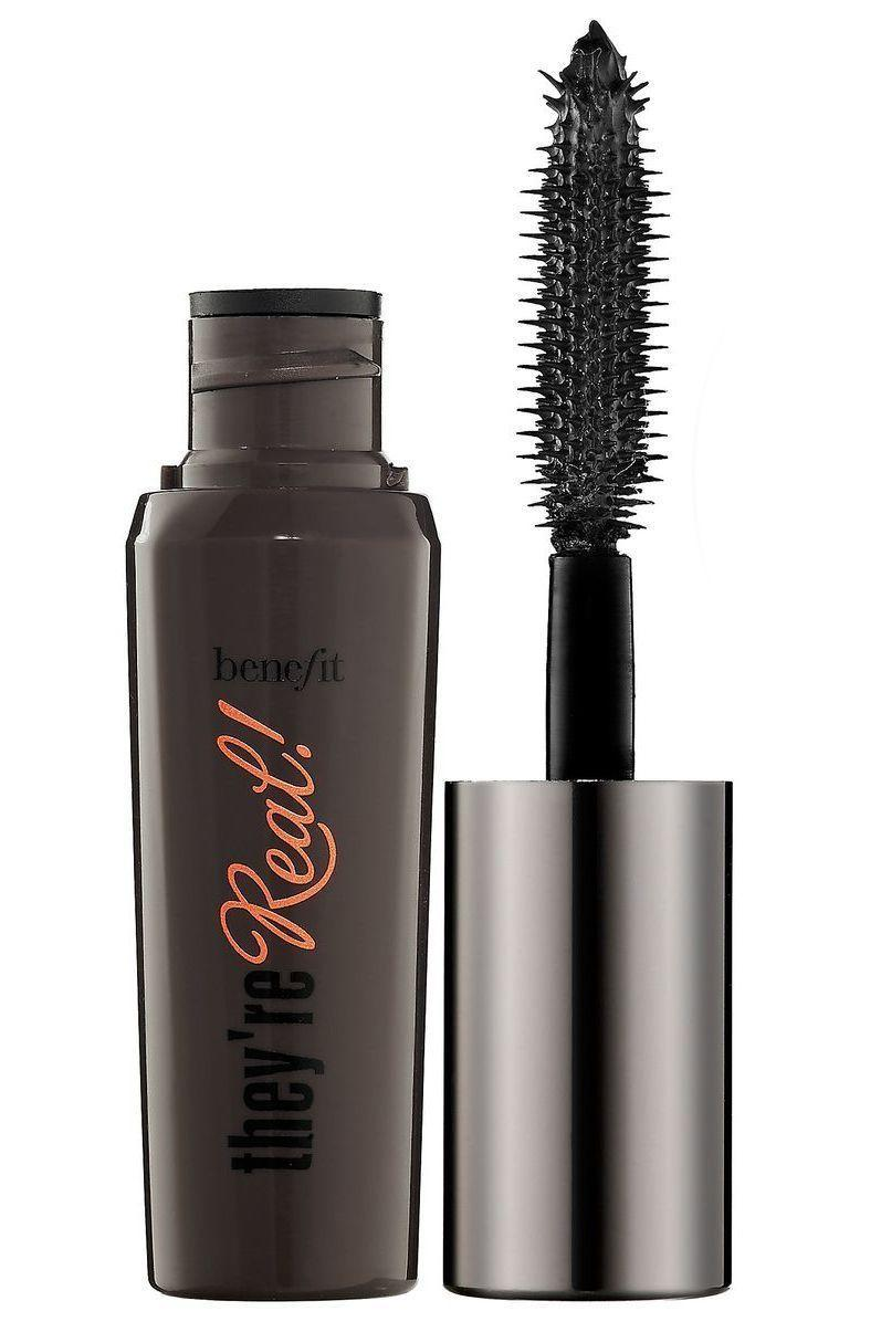 """<p><strong>Benefit Cosmetics</strong></p><p>sephora.com</p><p><strong>$13.00</strong></p><p><a href=""""https://go.redirectingat.com?id=74968X1596630&url=https%3A%2F%2Fwww.sephora.com%2Fproduct%2Fthey-re-real-lengthening-volumizing-mascara-P289307&sref=https%3A%2F%2Fwww.marieclaire.com%2Fbeauty%2Fmakeup%2Fg35238491%2Fbest-lengthening-mascaras%2F"""" rel=""""nofollow noopener"""" target=""""_blank"""" data-ylk=""""slk:SHOP IT"""" class=""""link rapid-noclick-resp"""">SHOP IT </a></p><p>Benefit is known for it's mascaras, and this one is a makeup artist standby. It lifts lashes at the root and helps extend even the the shortest hairs. </p>"""