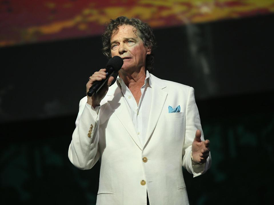 <p>Thomas on stage in 2015</p> (Getty)