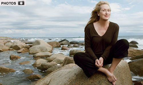 Meryl Streep appears in January 2012 Vogue. CREDIT: Vogue