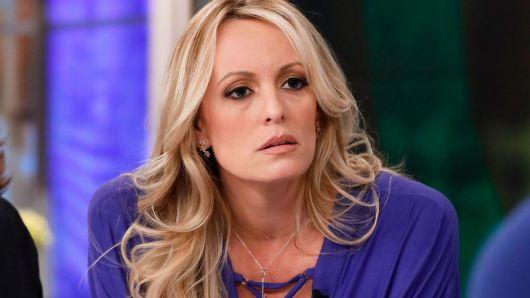 "<p>Trump 'shushes' Stormy Daniels: In the January of 2018 itself, WSJ revealed that Trump's lawyer paid Stormy $130,000 before the elections in 2016 as ""hush money"", leading to a full blown-out scandal. </p>"