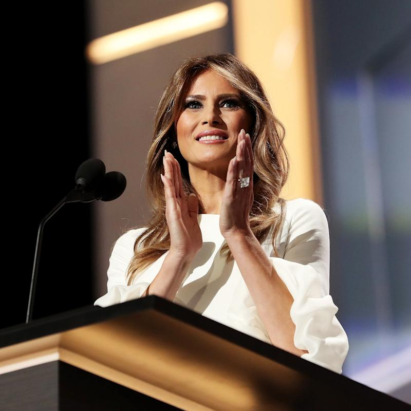In 3 Years, Melania Trump Has Only Posted 1 Photo of Her and Trump on Social Media