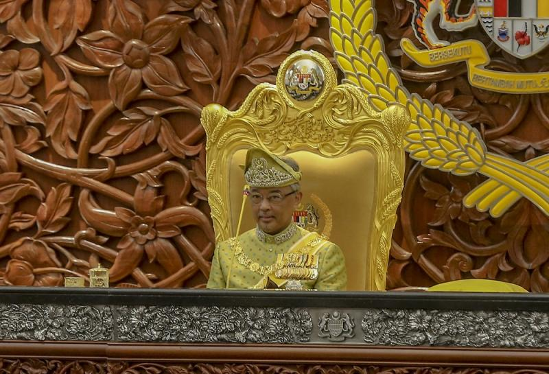 The Foreign Ministry said that the current Yang di-Pertuan Agong Sultan Abdullah Ahmad Shah was informed before Malaysia ratified the Rome Statute. — Picture by Firdaus Latif