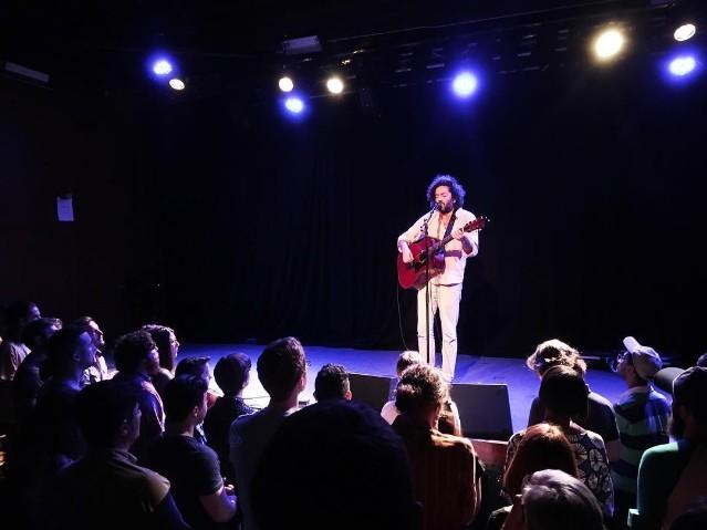 Dan Bejar, the cryptic mumbler behind Destroyer, embarked on a fall solo tour last month. He promised that he'd use the opportunity to debut some new material, and he wasn't lying. Video of Bejar performing one of the 10 new guitar-based songs he's been playing has now emerged, and you can watch it below. The…