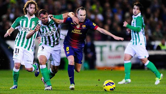 <p>Here returns Iniesta - this time with even less hair than he had two years prior.</p> <br><p>It appears that if Messi and Ronaldo didn't exist, the Barcelona duo in Iniesta and Xavi would've created their own little domination over the space of four years. Quite rightly too, with both of them playing an enormous role in Pep Guardiola's incredible Barcelona side.</p>
