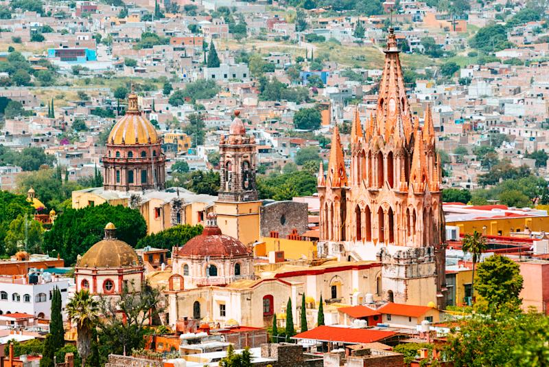 San Miguel de Allende, Mexico. Getty Images