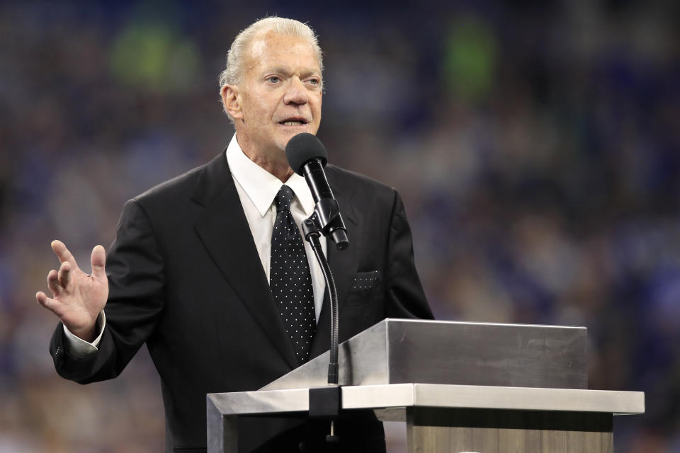 Indianapolis Colts owner Jim Irsay. (Getty Images)