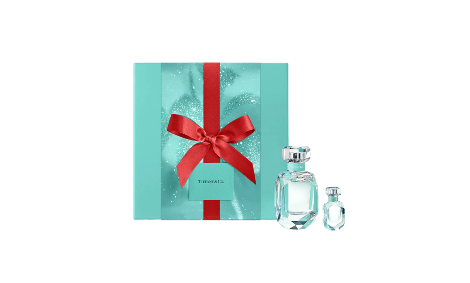 """<p><strong>Tiffany & Co.</strong></p><p>nordstrom.com</p><p><strong>$115.00</strong></p><p><a href=""""https://go.redirectingat.com?id=74968X1596630&url=https%3A%2F%2Fwww.nordstrom.com%2Fs%2Ftiffany-co-tiffany-eau-de-parfum-set%2F6442912&sref=https%3A%2F%2Fwww.prevention.com%2Fbeauty%2Fg37724897%2Fbest-perfume-gift-sets%2F"""" rel=""""nofollow noopener"""" target=""""_blank"""" data-ylk=""""slk:Shop Now"""" class=""""link rapid-noclick-resp"""">Shop Now</a></p><p>It doesn't get much more classic than Tiffany Blue. <strong>Channel your inner Audrey Hepburn</strong> and grab this signature scent set, which includes a full- and travel-sized bottle.</p>"""