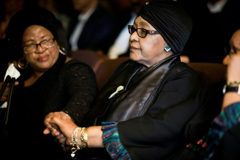 Winnie Madikizela-Mandela, ex-wife of the late former South African president, paid tribute to anti-apartheid stalwart Ahmed Kathrada