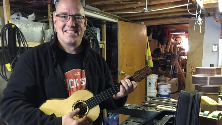 'They've all got their own personalities,' says Mount Pearl ukulele builder