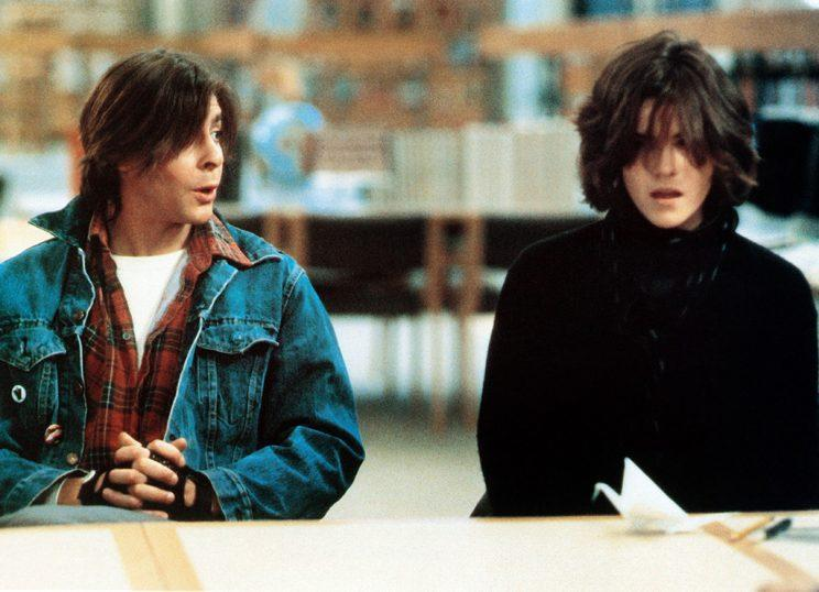 THE BREAKFAST CLUB, from left: Judd Nelson, Ally Sheedy