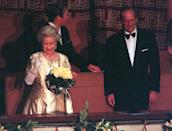 "<p>At the royal couple's golden wedding anniversary in 1997 the Queen paid tribute to her husband in her speech, calling him her ""strength and stay all these years"". Photo: Getty Images.</p>"