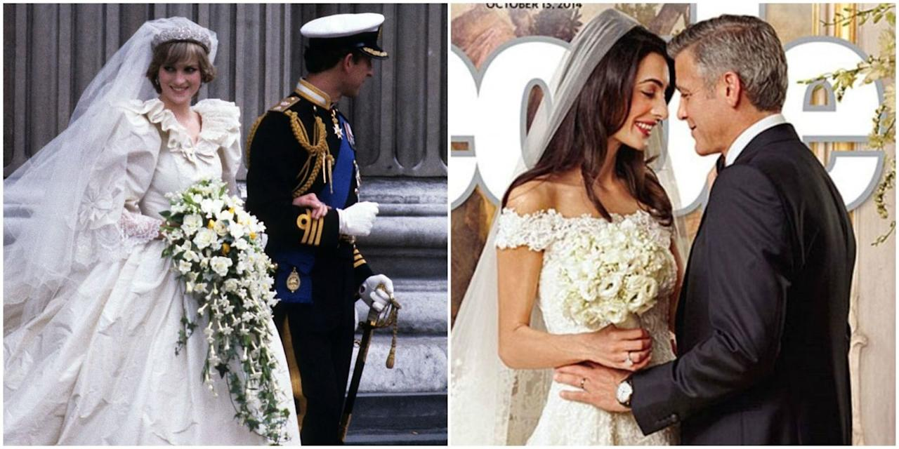 9 of the most expensive celebrity wedding dresses ever for Average wedding dress budget