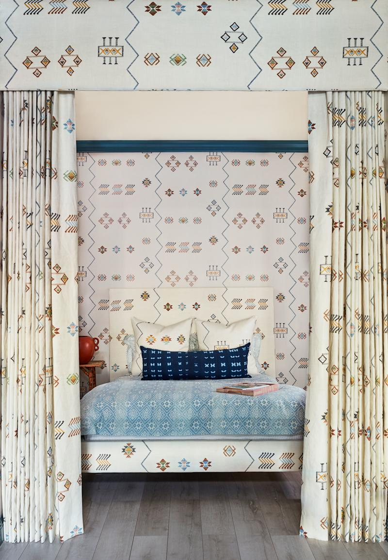 Pattern mix like a pro with St. Frank's new bedding