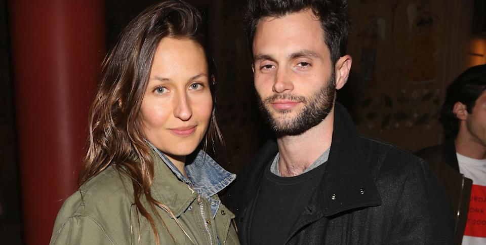 Penn Badgley and Domino Kirke Share a First Glimpse at Their New Baby Boy