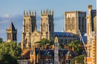 <p>While its currently closed for visitors, York Minster in York also made the list as one of the most stunning views. Crafted in stained glass and stone, it really is quite the sight to behold. </p>