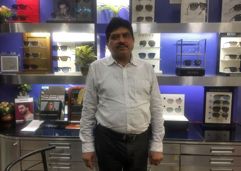 Eye-watering problem: Indian optician's claim threatens nation's banks