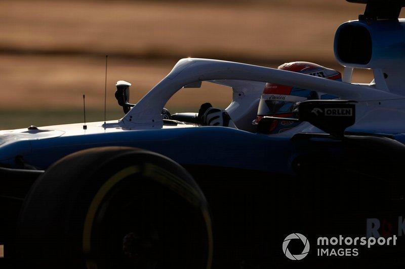 """George Russell, Williams FW42<span class=""""copyright"""">Zak Mauger / Motorsport Images</span>"""