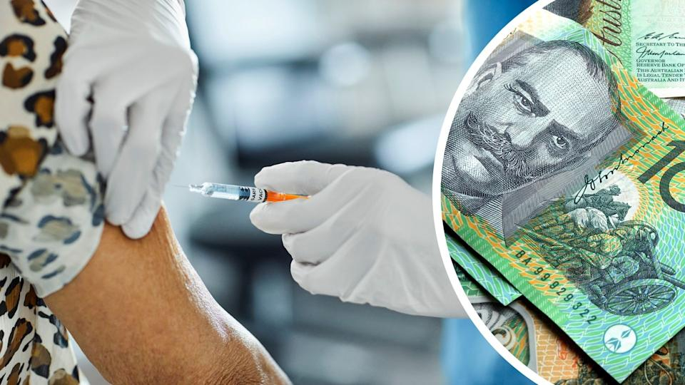 If you're a vaccinated, or soon-to-be vaccinated Melburnian, you could win $1,000. (Images: Getty).