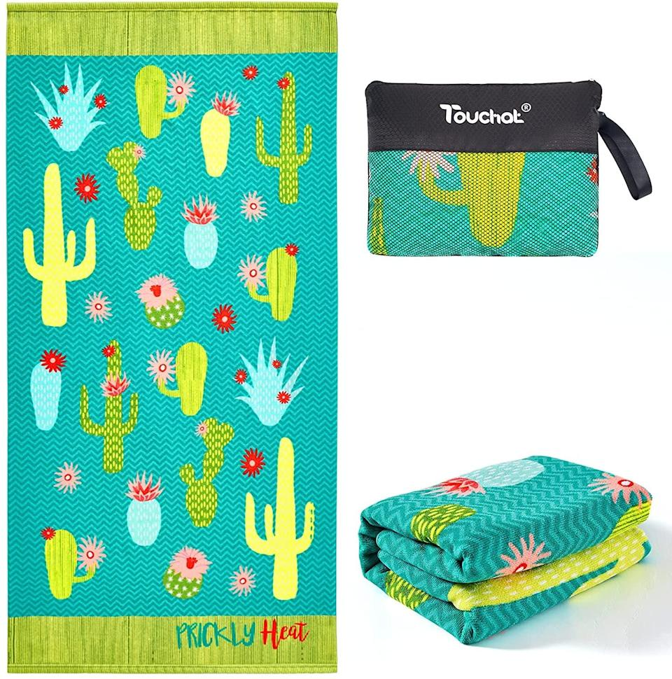 <p>How fun is this <span>Touchat Cactus Beach Towel Oversized</span> ($15). It's a total vibe for the summer!</p>