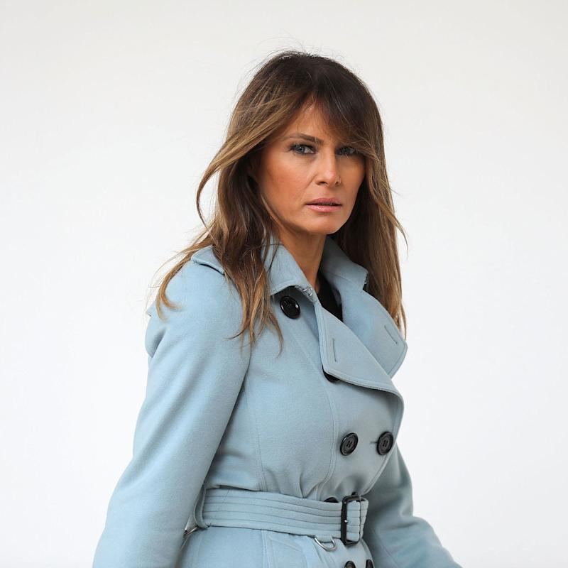 Amidst conspiracy theories, Melania to skip Trump's Camp David family trip