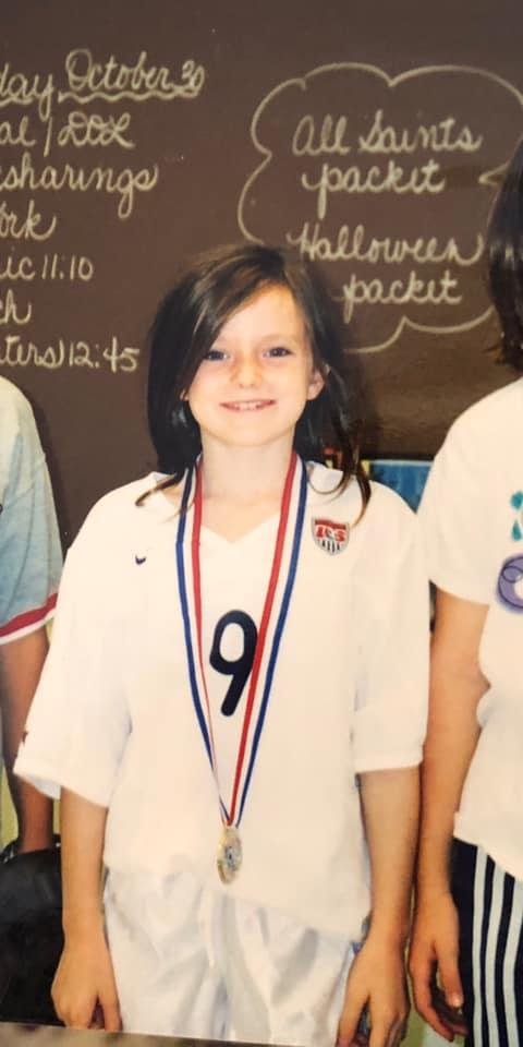 As a third-grader in Cincinnati, Rose Lavelle wore a costume of her hero, Mia Hamm.