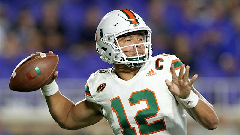College football rankings: Miami survives to stick at No. 2, top 10 stays the same