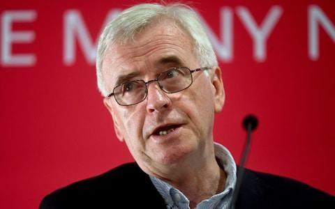 John McDonnell - Credit: Kirsty O'Connor/PA
