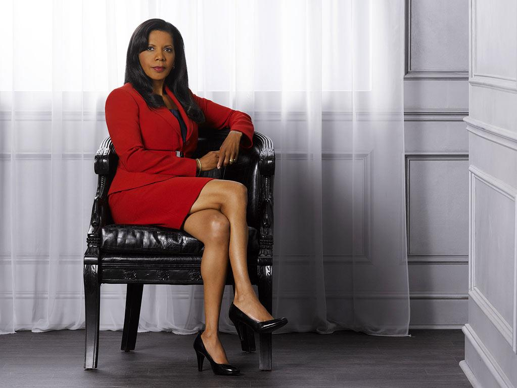 "Penny Johnson Jerald stars as Captain Victoria Gates in ""Castle."""