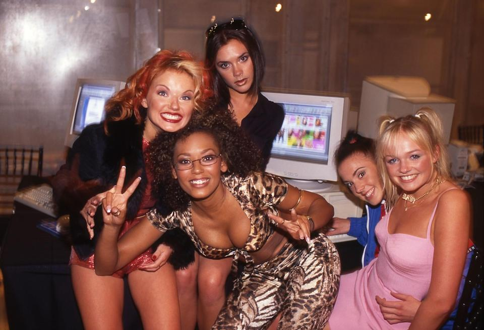 <p>Then: Easily one of the most famous (and pouty) faces from the 90s is Victoria Adams, AKA 'Posh Spice'. [Photo: Getty] </p>