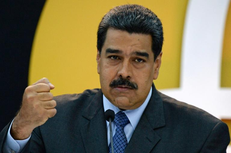 "The United States and European Union have imposed sanctions on Venezuelan President Nicolas Maduro and his officials, with Washington calling him a ""dictator"""