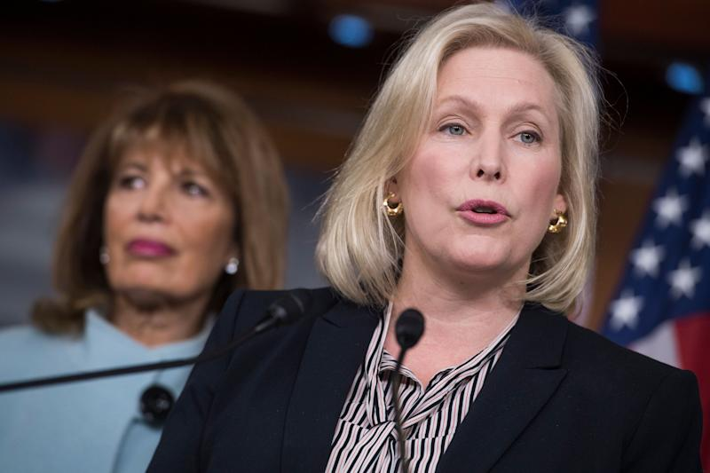 Sen. Kirsten Gillibrand (D-N.Y.) says that the standards of behavior that would lead to someone resigning or being fired have changed since Bill Clinton was in office.