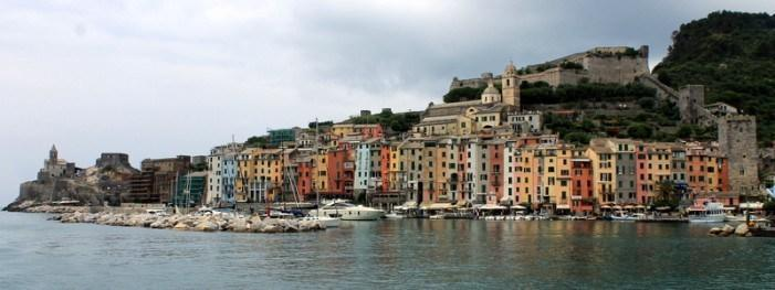 """<p>The ferry ride from Cinque Terre to Porto Venere treats passengers to views like this.<br></p><p><i>(Photo: <a href=""""http://www.dtravelsround.com/"""" rel=""""nofollow noopener"""" target=""""_blank"""" data-ylk=""""slk:D Travels Round"""" class=""""link rapid-noclick-resp"""">D Travels Round</a>)</i></p>"""
