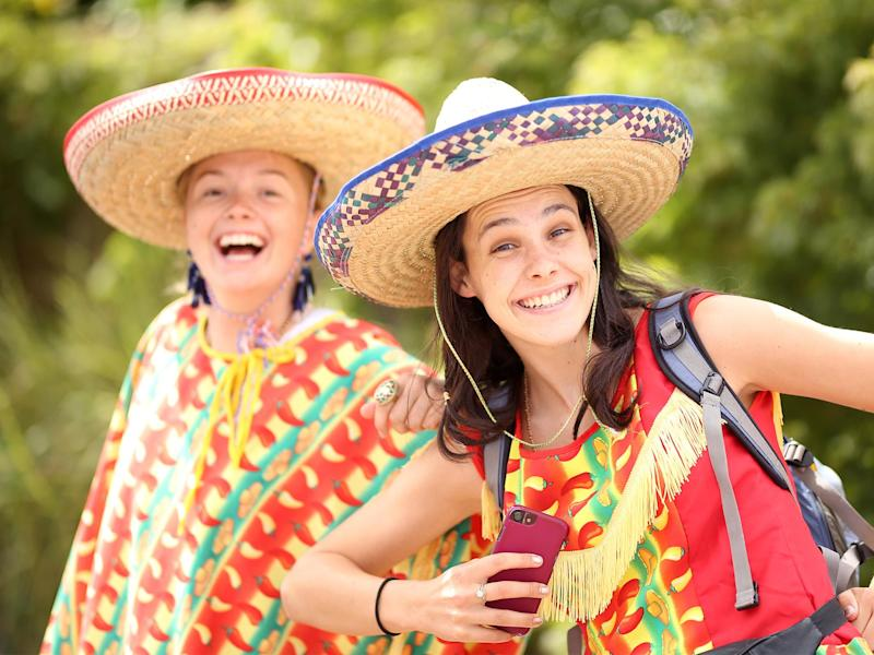 Sombreros would also be banned under the fancy dress guidelines being drawn up by Kent student union: Steven Paston//PA Images