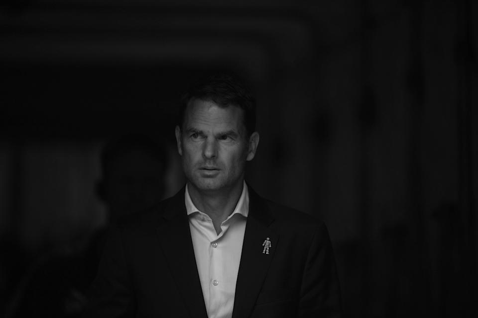 Frank de Boer lasted just 77 days as Crystal Palace manager, but it wasn't his results that sealed his fate