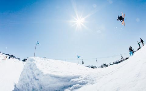 <span>Atkin made rapid progress after joining the GB Park & Pipe team</span> <span>Credit: Matt Georges </span>